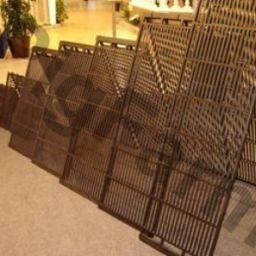 Щільові підлоги для свиноферм та свинокомплексів с чавуну