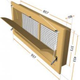 Клапан притоку повітря (приточний клапан)