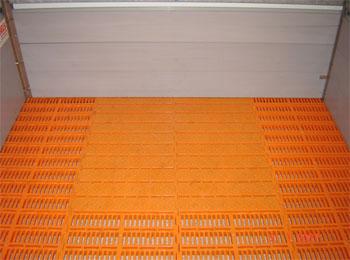 Щільові підлоги для відділень дорощування поросят