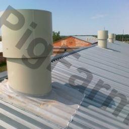 Витяжні дахові каміни для вентиляції